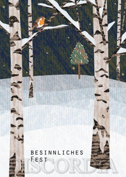Postkarte mit briefumschlag BSU117